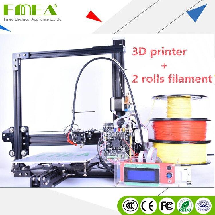 FMEA 2017 Haute Précision Bricolage Filament Industrie Imprimeries Machine Kit 3D Imprimante
