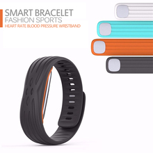Bluetooth font b Smart b font Band Heart Rate Monitor Blood Pressure Fitness Tracker Wristband With