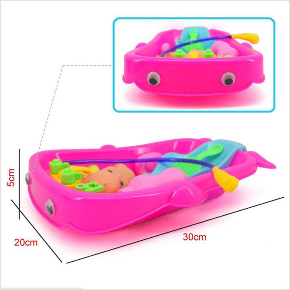 Детские игрушки для ванной игрушки для воды Для детей новорожденных раннего образования Ванная Комната Игровой Набор Ванна когнитивных плавающая игрушка подарок