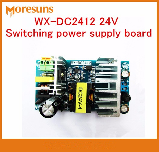wx dc2412 - Fast Free Ship WX-DC2412 24V switching power supply board 4A 6A high-power industrial power supply module