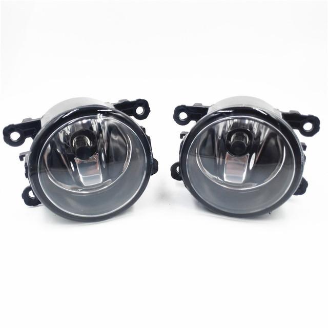 Estilo do carro lâmpada lâmpadas de halogéneo de nevoeiro luz de nevoeiro luzes de nevoeiro para mitsubishi grandis galant l200 2003-2015 12 v 2 pcs