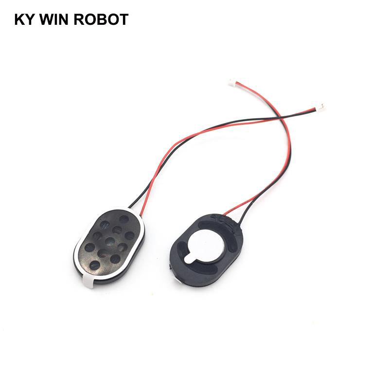 2pcs New Electronic Dog GPS Navigation Speaker Plate 8R 1W 8ohm 1W 2030 20*30*4mm With 1.25mm Terminal Wire Length 10CM
