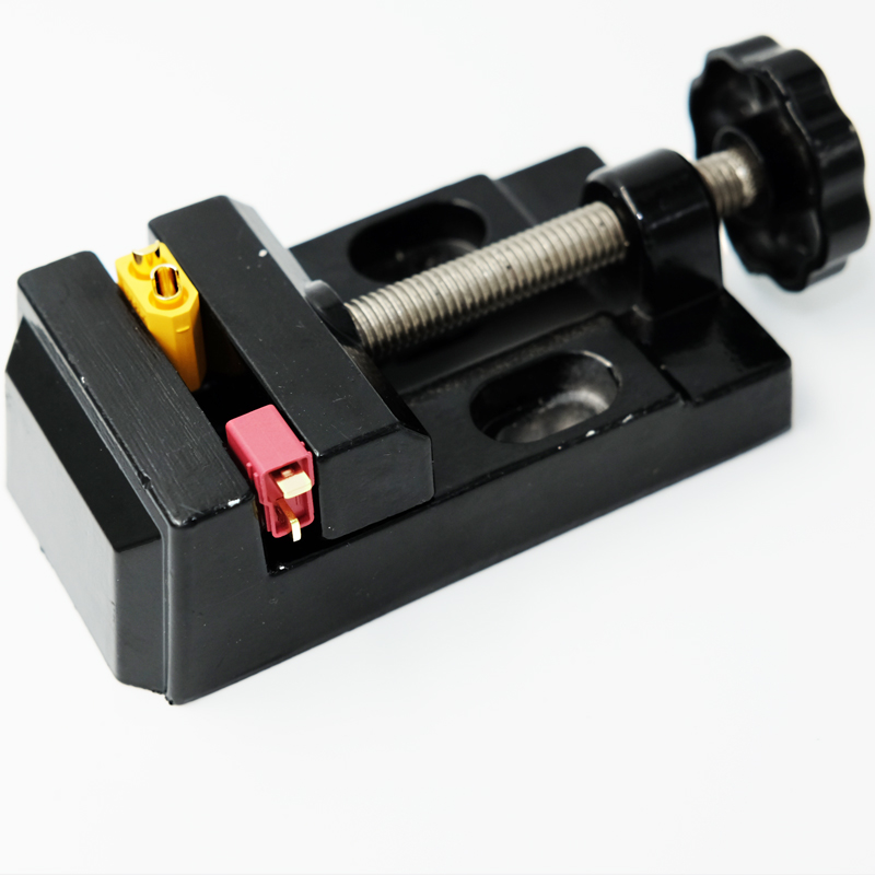 Aluminum Alloy Universal Clamp Station for RC model XT60 Dean connector soldering