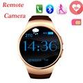 Bluetooth поддержка sim-карты Smartwatch Смарт Часы Наручные Мужчины Наручные Часы Носимых Устройств для apple, IOS android Телефон pk k88h gt08