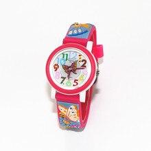 Мини-червь 3D группа шаблон Дизайн маленькая девочка дети студенты мальчик Для женщин наручные часы Водонепроницаемый часы Reloj