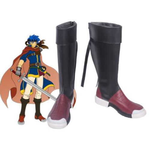 Yusei Fudo Cosplay Shoes Boots Halloween Party Cosplay Costume Accessories Yu-gi-oh Shoes