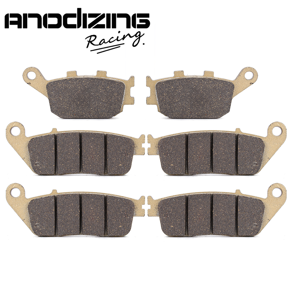Motorcycle Front and Rear Brake Pads For HONDA CBF1000 2006-2011 motoo motorcycle front and rear brake pads for honda cb600f hornet 1998 2006