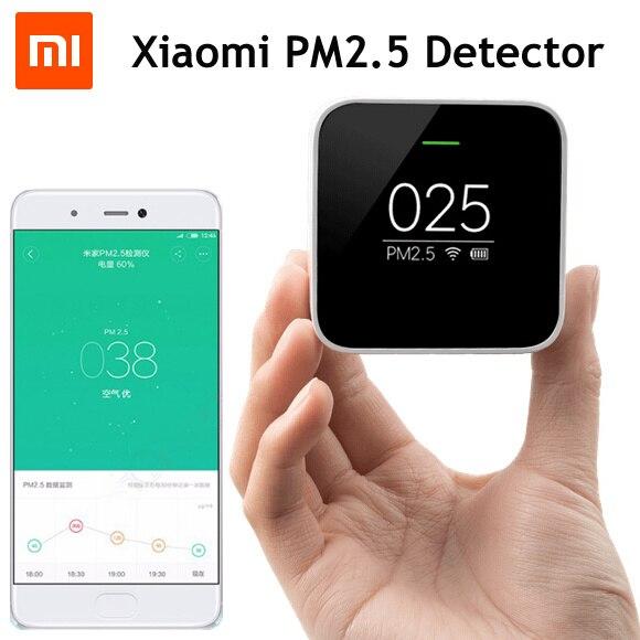 Original Xiaomi Mijia PM2.5 Detector Air Quality Tester Monitor OLED Smart Sensor Air Purifier цены