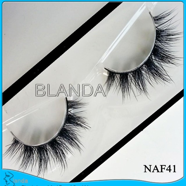 UPS Free Shipping 100pair Natural False Eyelashes Handmade Fake Lashes Long Makeup 3D Mink Lashes Eyelash Extension Mink Eyelash