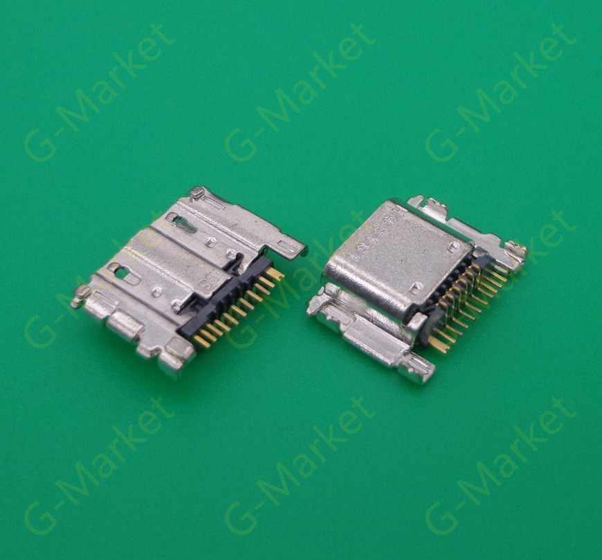 2 Pcs untuk Samsung Galaxy Tab4 SM-T700 T705C T800 T805 T805C T330 T331 T335 Baru Kualitas Tinggi Micro USB Pengisian konektor Port