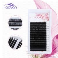 FADVAN10 Cases Set,16rows/tray, Mink Eyelash Extension,individual Eyelashes,fake Eye Lashes,natural Long Eyelashes Makeup