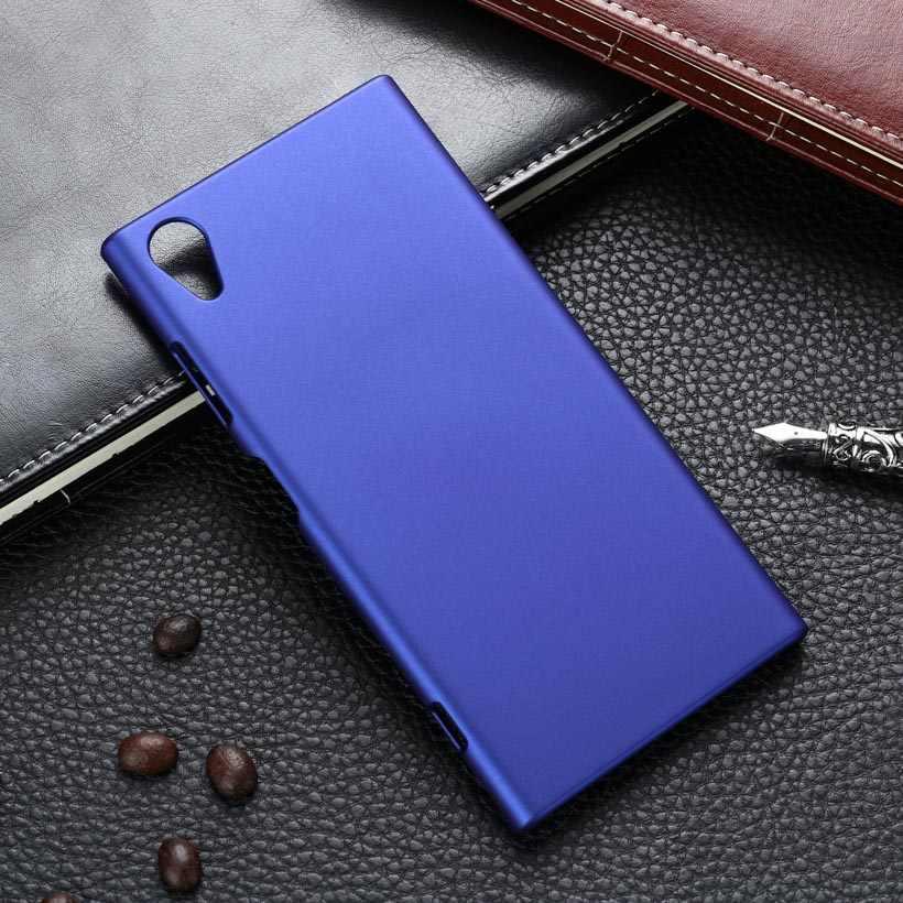 Caso para Sony Xperia XA1 Ultra caso XA XA2 XZ Premium X XZ1 compacto Z1 Mini Z2 Z3 Z4 Z5 más XZS T3 cubierta trasera de plástico