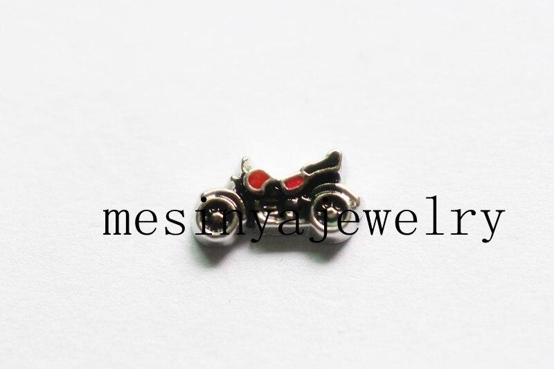 10pcs motorbike symbol charms for glass locket Min amount $15 per order mixed items,FC-074