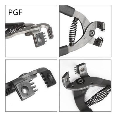 PGF Silent ling chop piers Diamond cut punch կաշվե դակիչ - Արվեստ, արհեստ և կարի - Լուսանկար 2