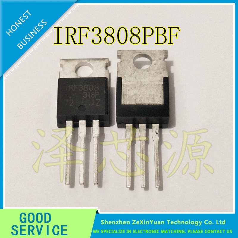30PCS/LOT  IRF3808PBF TO-220 IRF3808 3808 TO220 Best Quality