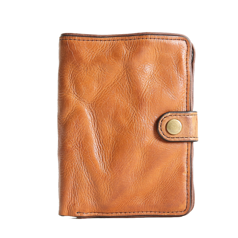 100% portefeuille en cuir véritable hommes peau de vache de haute qualité en cuir de vache véritable portefeuilles sac à main multifonction mince à deux volets sac de Designer