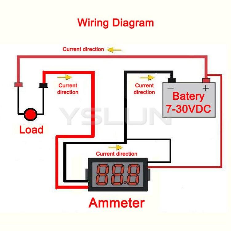 Ac Amp Meter Wiring Diagram - Roslonek.net