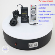 MT380L  360 Degree Electric Rotating Turntable for Photography studio ,Adjustable angle spee Max Load 120kg