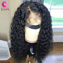 Eva Hair Glueless Lace Front Human Hair Wigs For Black Women Brazilian Remy Hair Curly Lace Front Wig Pre Plucked With Baby Hair - DISCOUNT ITEM  40% OFF All Category