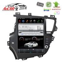 Тесла Стиль DVD Android для Kia Optima K5 gps Мультимедиа Bluetooth радио WI FI 4G вертикальной стерео AUX HD Сенсорный экран