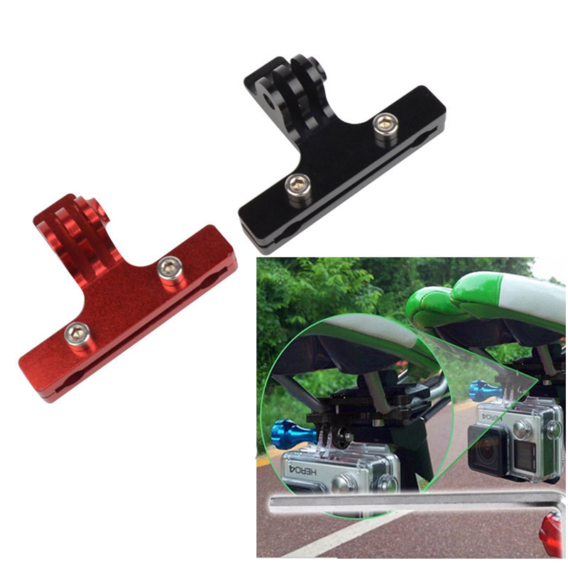 Tekcam for Gopro Bicycle Racing Saddle Mount Rail Seat Clamp For Gopro Hero 5 Hero4/3+/3 SJ4000 SJ5000 XIAOMI YI 4K Eken h9r