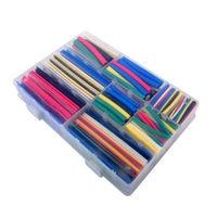 DIYmall Heat Shrink Tubing Tube Sleeving Set 7 Colors 9 Sizes Wrap Sleeve Set Combo 392