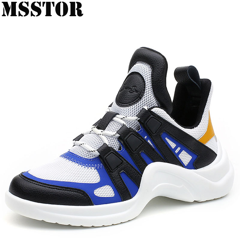 MSSTOR Women Running Shoes Woman Brand Summer Breathable Sport Shoes For Men Outdoor Athletic Lovers Men Running Shoes Sneakers super cool breathable running shoes men sneakers bounce summer outdoor sport shoes professional training shoes plus size 46
