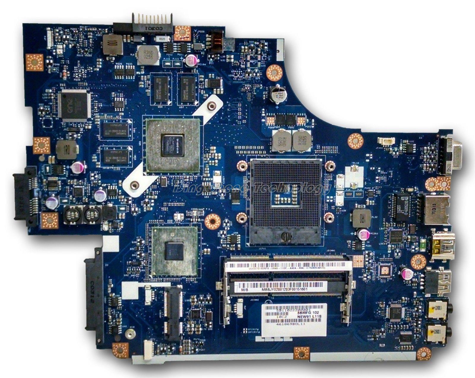 Подробнее о Original laptop Motherboard For Acer 5742 MB.BRB02.001 new71 LA-5893P Rev 1.0 non-integrated graphics card 100% fully tested for acer 5742 la 6582p laptop motherboard mbrjw02001 100