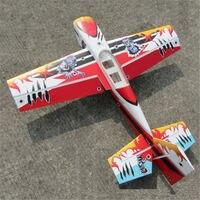 New Arrival Slick 540 48inch 30E 02B PP 1230mm Wingspan 3D Aerobatic RC Airplane Kit High