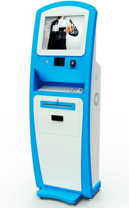 Touch screen bus station ticket machine cinema self-service ticket machine automatic money passport/ID card process Terminal Touch screen bus station ticket machine cinema self-service ticket machine automatic money passport/ID card process Terminal