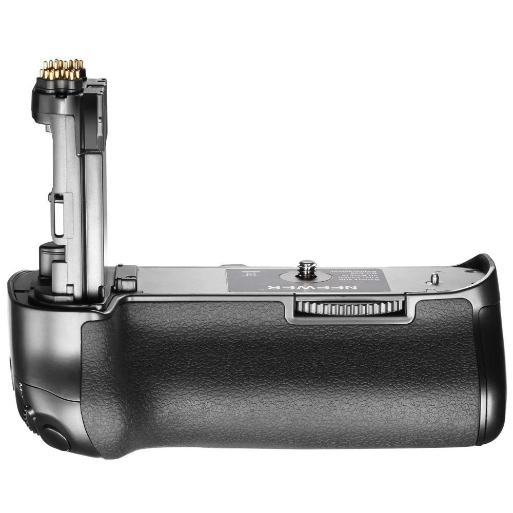 Poignée de batterie Neewer pour appareil photo Canon 5D Mark IV, remplacement pour BG-E20 Canon Compatible avec les Batteries LP-E6 LP-E6N