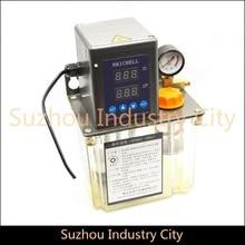 1.5L 220 V AC Eléctrico Bomba de Lubricación Automática CNC Router máquina de Grabado Automático Bomba De Aceite Doble digital