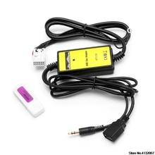 Auto Radio Lettore USB Aux-in Adattatore CD MP3 Interfaccia 12 Spille Per VW Audi Skoda Sede 828 di Promozione