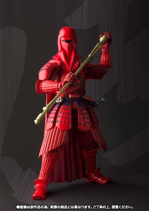 все цены на  Star Wars Action Figure Red Royal Guar Sic Samurai Taisho PVC MOVIE Realization 170mm Anime Star Wars Toy Darth Vader  онлайн