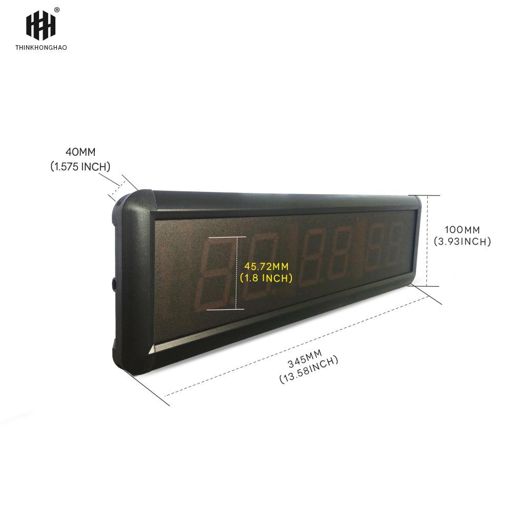 liela izmēra, funkcionāls, fitnesa taimera pulkstenis 1,8 collu - Mājas dekors - Foto 3