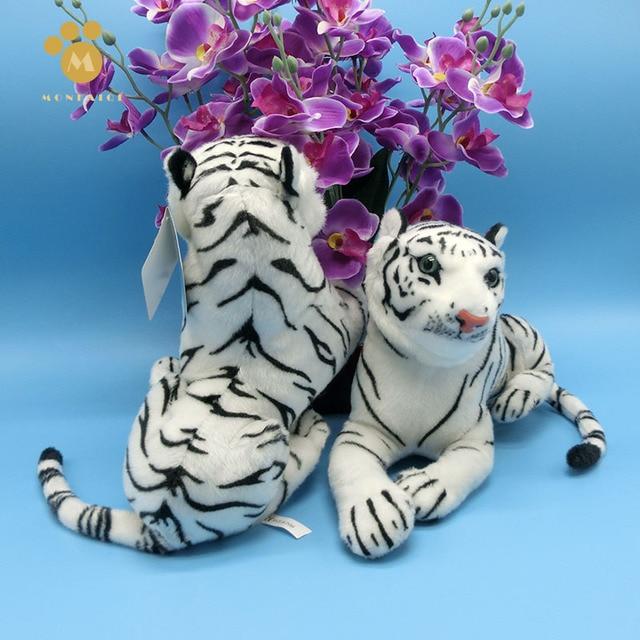 58 cm del fumetto tigre bianca peluche tigre bambole morbide animale