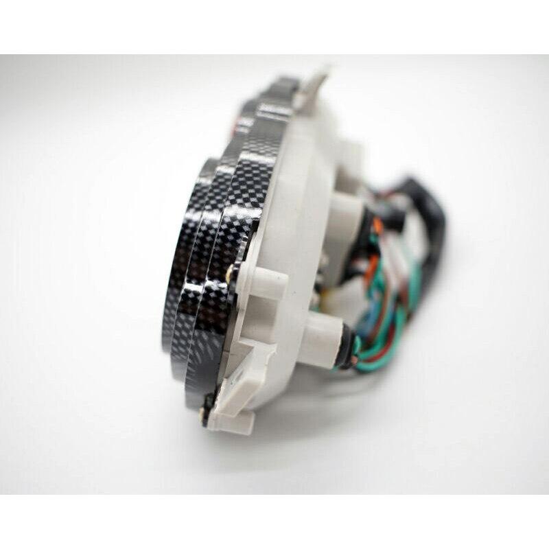 Velocímetro clássico, odômetro tacômetro com medidor de
