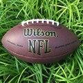 La última Pro Marca oficial del fútbol Americano rugby bola bola de futebol americano Adultos size9 para traing y fósforo grado de LA PU