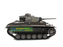 100% Metal Mato 1/16 Panzer III RC RTR Tank Model Infrared Version Gray 1223