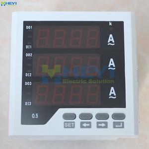 Image 3 - 3 phase LED digital amp meter manufacturer AC digital current meters with RS485 communication