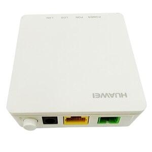 Image 1 - חדש הואה ווי HG8010H אלחוטי Gpon מסוף עם 1 GE יציאות ethernet, SC APC ממשק אנגלית הקושחה, האיחוד האירופי תקעים