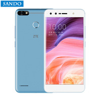 ZTE Blade A3 5,5 Zoll smartphone 4G LTE Quad Core 13.0MP Fingerprint 4000 mAh Origina Android 7.0 3 GB RAM 32 GB ROM 1080 P 2 SIMs