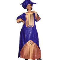 African Dresses For Women Dashiki Dresses Bazin Riche Traditional African Clothing Long Sleeve For Ladies