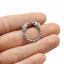 Vikings Antique Silver 1 pc Ring Mythological Jewelry
