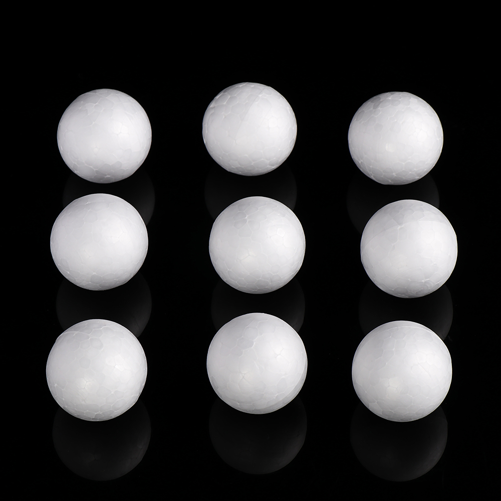 100mm Modelling Polystyrene Styrofoam Foam Ball Modelling Craft Decoration 10PCS