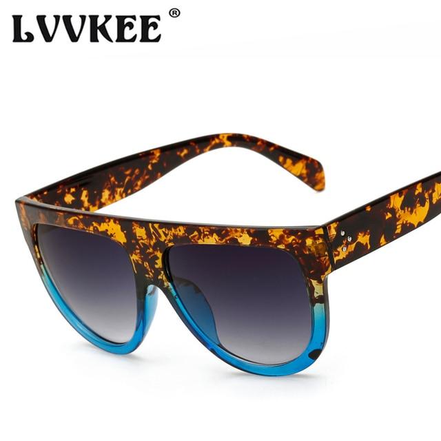 daf7cd37a7 2018 Fashion Ladies Big Frame Cat Eye Sunglasses Woman Flat Top Mirror Sun  Glasses French brand Design Tom Female Oculos UV400