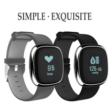 Waterproof P2 Smart Watch Fitness Blood Pressure Tracker Watch Bluetooth Health Bracelet PK miband 2