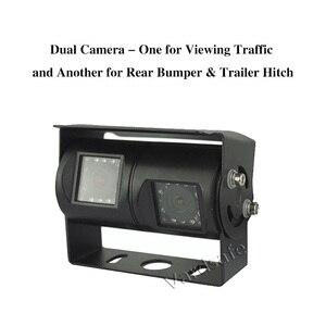 Vardsafe VS802   двухобъективная сверхмощная задняя камера заднего вида для RV Truck Motorhome