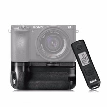 Meike MK-A6500 Professional Battery Grip for Sony A6500 Mirroless Digicam with 2.4G Wi-fi 100M Distant Management