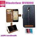 2016 Caso BLACKVIEW BV5000 Caso Del Precio de Fábrica 7 Colores de Cuero Exclusivo para Blackview BV5000 Protectora Cubierta Del Teléfono + Tracking
